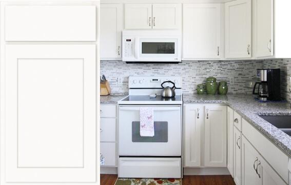stock-door-kitchen-smpolarwhite3 & Kitchen Cabinetry - Williams Kitchen u0026 Bath