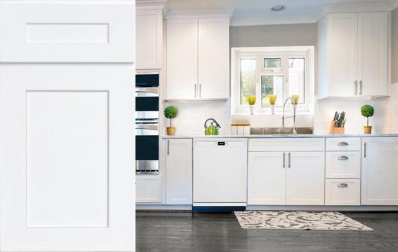 BRAND: RiverRun Cabinetry STYLE: Desoto White
