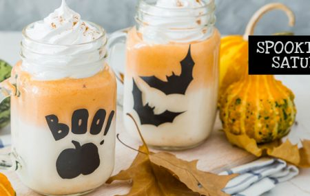 Stirup some scary fun with these easy-to-make, kid-friendly Halloween drink recipes. Featuring bothbone-chilling cold drinks and hair-raising hot drinks,these 5 drinks are sure to delight all the ghosts and goblins at your next Halloween get-together. #spooktacularsaturdays   Share Post:  Graphics Credit: All images purchased through bigstock.com