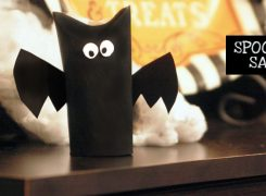 Eerily Easy Halloween Crafts You Can Do With Common Kitchen & Bath Items