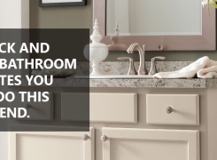 5 Quick and Easy Bathroom Upgrades You Can Do This Weekend