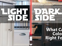 Light Side vs Dark Side: What Cabinet Color is Right for You?